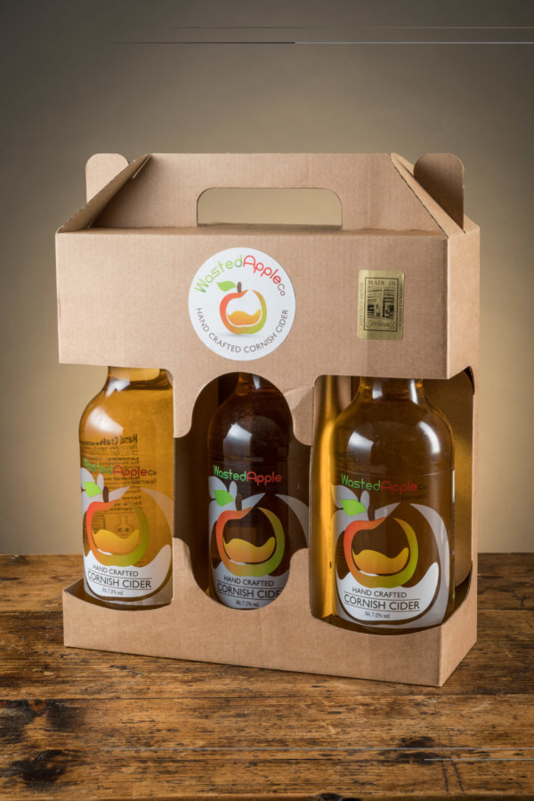 3 Bottle Cider Presentation Box