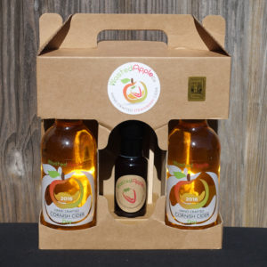 3 bottle presentation case of Strawberry Fruit Cider