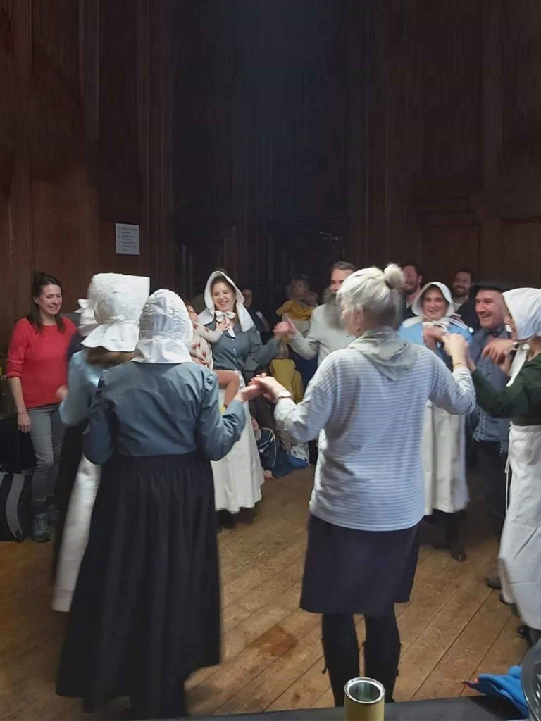 House to house wassailing