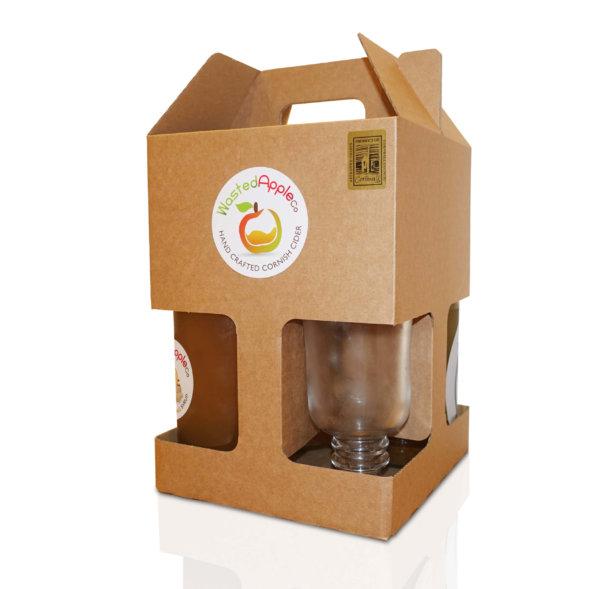 4 Bottle Mulled Cider Gift Pack